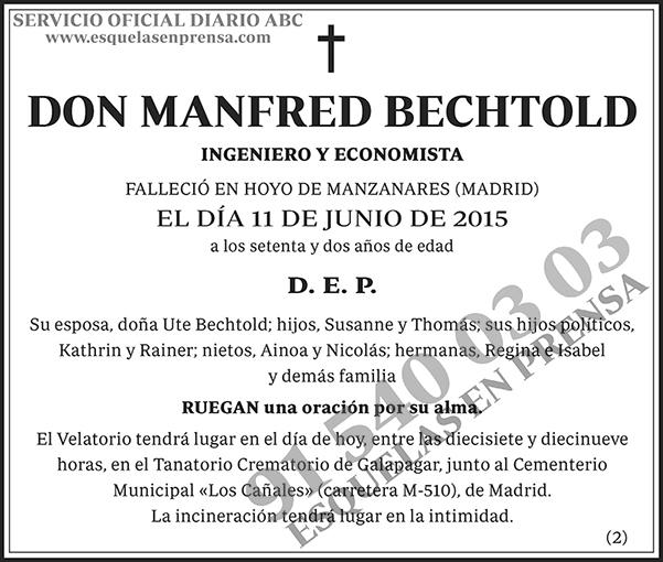 Manfred Bechtold